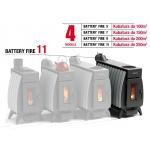 Piec koza Termofor Battery Fire 11 - 16 kW kubatura do 250 m3