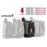 Piec koza Termofor Battery Fire 9 - 13 kW kubatura do 200 m3
