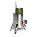 Termofor Doublet 1 INOX - przenośny piec do ogrzewania i gotowania